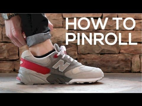 ▶Make your jeans work! Tutorial: How To Pinroll - YouTube