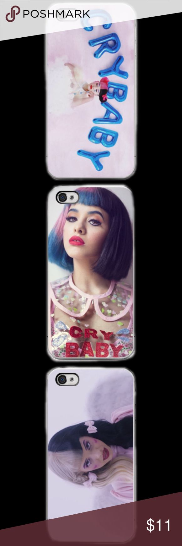 MELANIE MARTINEZ IPHONE 5c 5/5s 6/6s 6/6s+ LISTING IS FOR ONE CASE. YOU GET TO CHOOSE WHAT DESIGN YOU WANT. This a iPhone 5c 5/5s 6/6s 6/6s Plus phone case. It is made of durable hard plastic. Easy snap-on design for a lightweight feel and great phone protection. PLEASE SPECIFY WHAT SIZE CASE AND PICTURE OF CASE. BEFORE YOU PURCHASE LET US KNOW WHAT SIZE AND PICTURE.  