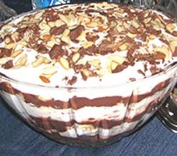 Australian English Trifle recipe from ifood.tv. One of my many trifle recipes: Australian English Trifle Recipe, Decorate with whipped cream and flaked chocol