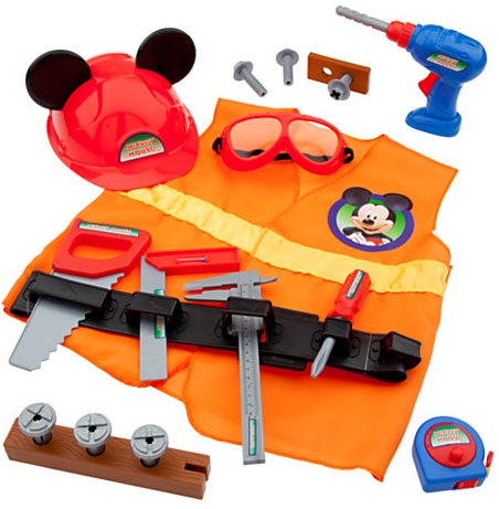 New Mickey Mouse Toys - construction accessory set