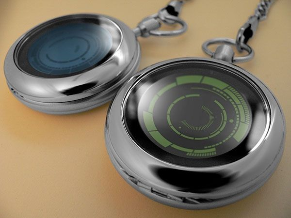 Maybe I should get back into pocket watches...  This digital one from Kisai Rogue looks like a good place to start