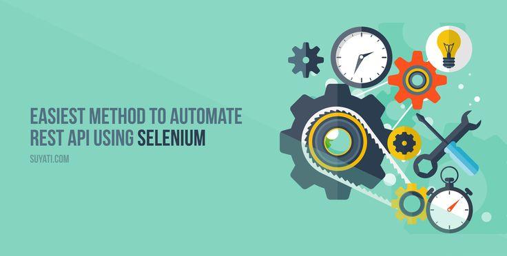 REST API using Selenium