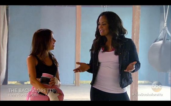 "Laila Ali guest starred on Kaitlyn Bristowe's first full episode as ""The Bachelorette."""