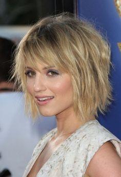 short horizontal layers haircut - Google Search