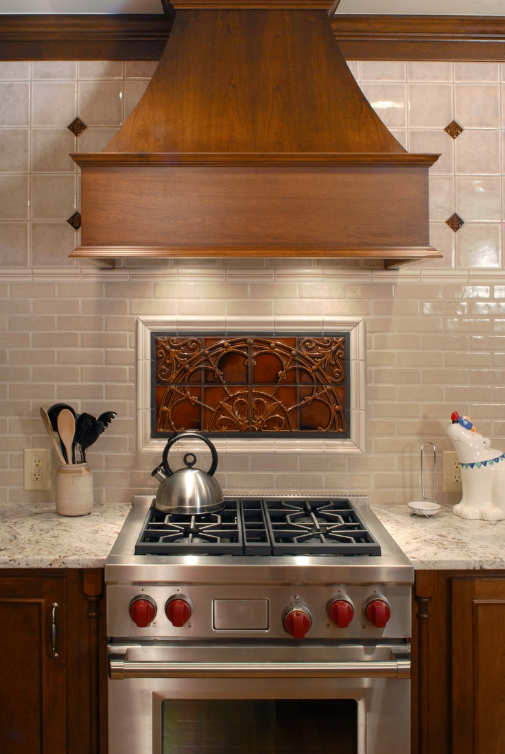 Wolf Range And Pratt Larson Tile Both Made In The Usa Backsplash Ideas Pinterest Home