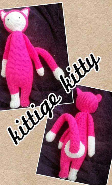 Cat mod made by Diana H. / crochet pattern by lalylala