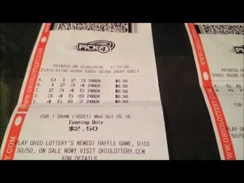 OHIO LOTTERY PICK 4 NUMBER TIP 10/5/16 - http://LIFEWAYSVILLAGE.COM/lottery-lotto/ohio-lottery-pick-4-number-tip-10516/