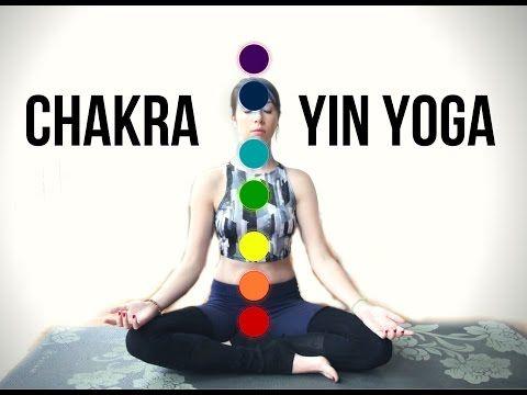 7 Yin Yoga Poses, 1 for Each Chakra - Yoga with Kassandra