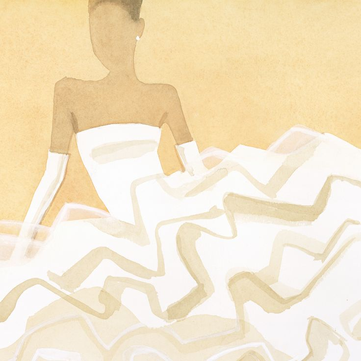 A wedding gown with voluminous ruffles is at once dramatic and wildly feminine. #TiffanyPinterest #TiffanyWeddings