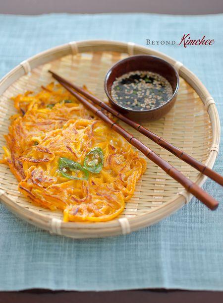 korean food korean bbq korean cuisine korean style pumpkin pancakes ...