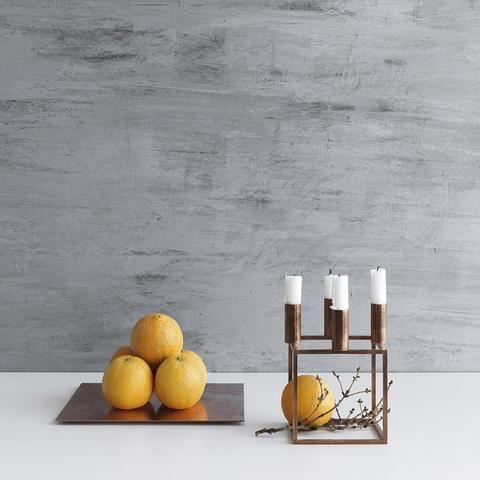 Kubus 4 Candleholder in Copper by Lassen is becoming a signature staple of modern decor. It's sure to impress and draw attention to your scandi accents.
