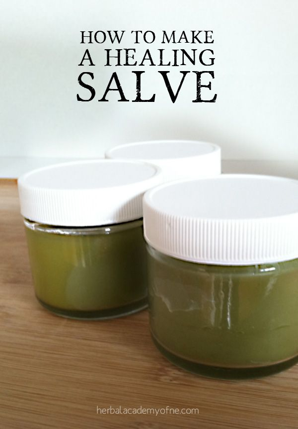 Salve making tutorial -- One of the best ways to receive the benefits of herbs as well as alleviate dry skin is through the creation of a healing salve.