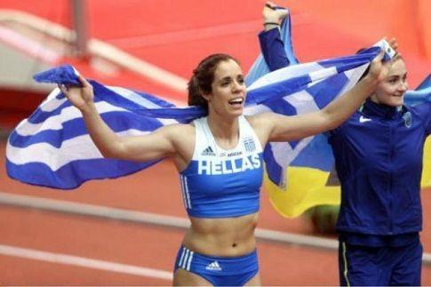 """Μας έκανε και πάλι περήφανους - """"Χρυσή"""" στο Ευρωπαϊκό η Στεφανίδη! (ΒΙΝΤΕΟ)"""
