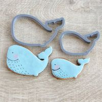 "Cookie cutter ""Whales"" Set 2pc"