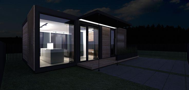 BONSO HOUSE 3 | MODUlAR PREFAB HOUSE  BY MVK'D'STUDIO architect