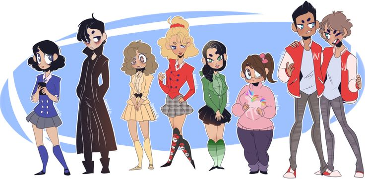 Heathers - Cast by Elemental-FA.deviantart.com on ...