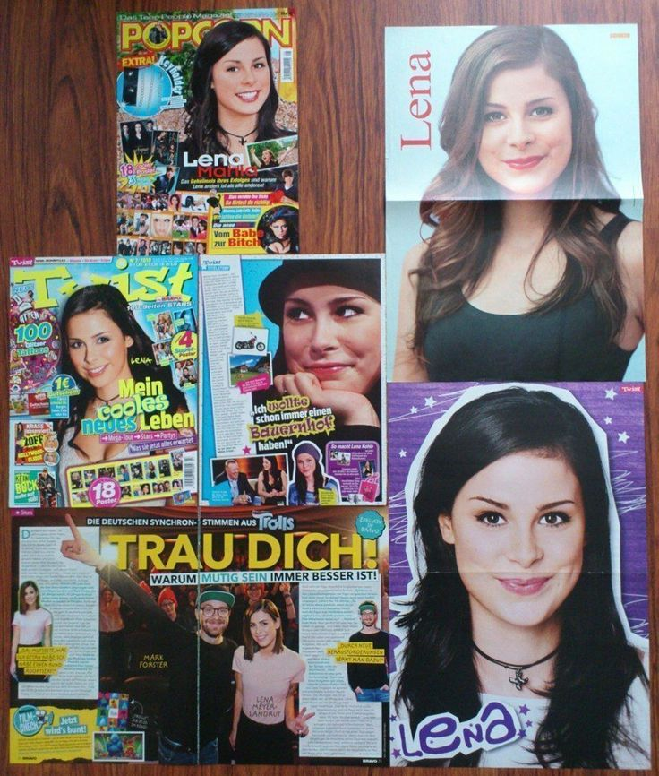 LENA MEYER-LANDRUT - Eurovision Song Contest 2010, Posters Clippings   eBay