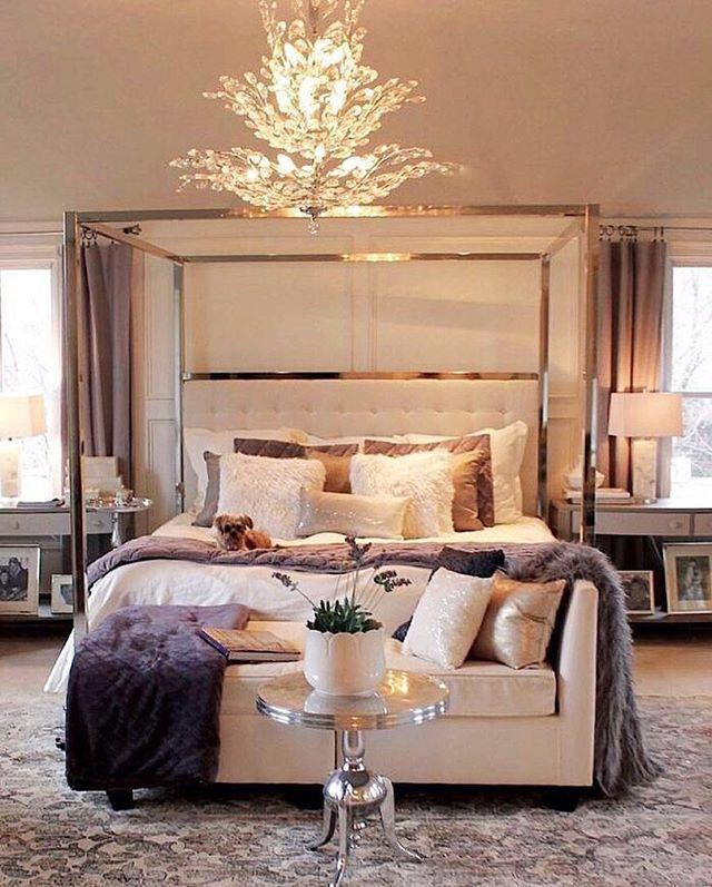 Best 25+ Glamorous bedrooms ideas on Pinterest   Glam ...