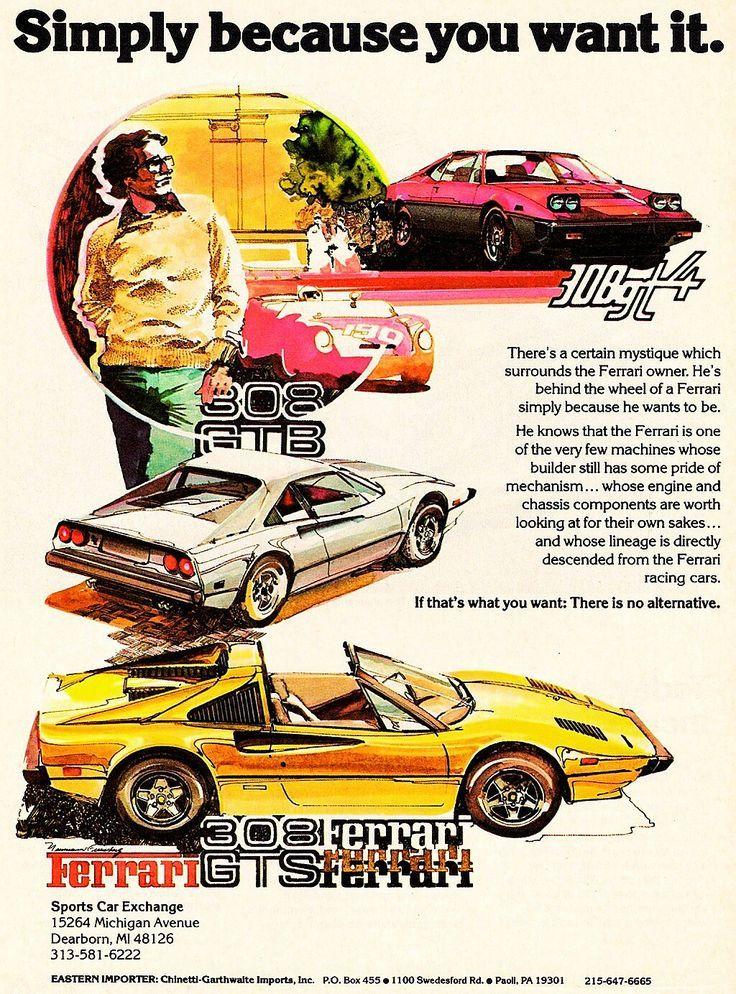 Pin By Ryuji On The Orphan Gt4 Ferrari Vintage Car Ads Ferrari