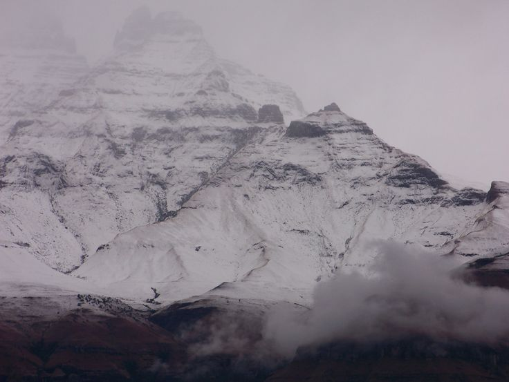 Snow in the Drakensberg