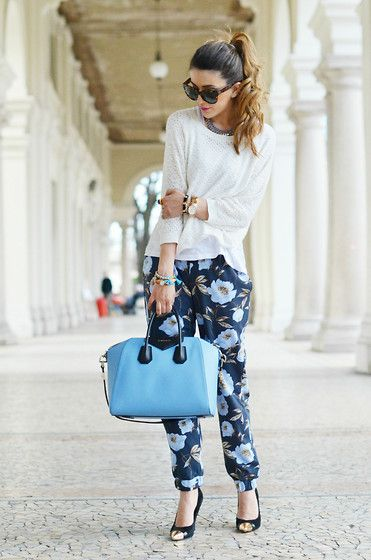SPRING BLOOM (by Nicoletta Reggio) http://lookbook.nu/look/4753875-SPRING-BLOOM-French-Connection-Uk-French-Connection-French-Connection-Uk-French-Connection-Givenchy