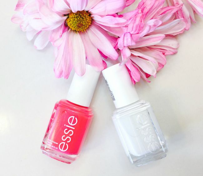 How to Get a Neon Pedicure Using Essie 2-in-1 White Nail Primer and Gel-setter  Beauty and Fashion blog for women   Chic From Hair 2 Toe