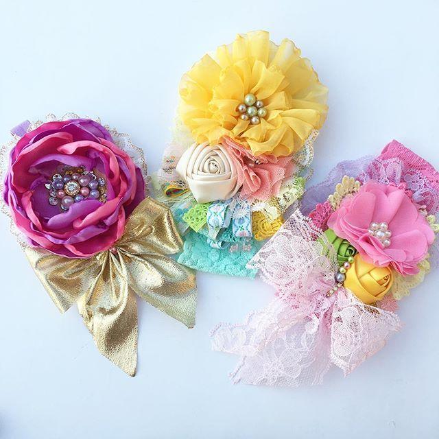 Have yourself a good Night✨ #babygirl #handmade #headband #hairband