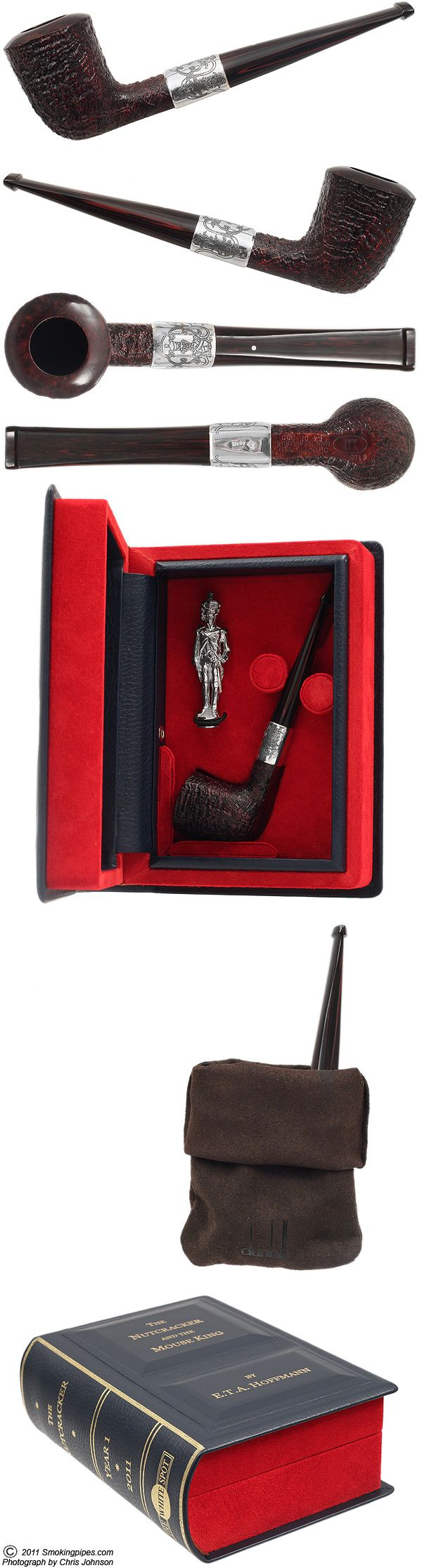 Dunhill: Christmas Pipe 2011 Cumberland (4105) (54/300)