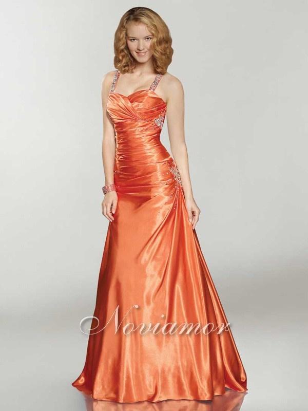 Prom Dresses Orange Dress