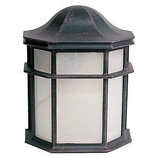 Home Collection Apliqué exterior 2780-22 1 luz Negro