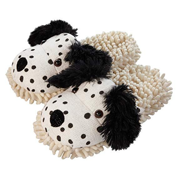 Aroma Home FUZZY FRIENDS SLIPPERS White LAMB UK Size 4 to 7