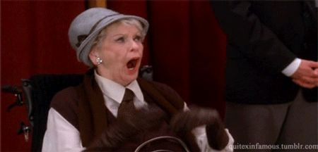 "We first met Colleen Donaghy, played by the late Elaine Stritch, in Season 1 of 30 Rock. | 21 Reasons Colleen Donaghy Was The Absolute Best Character On ""30 Rock"""