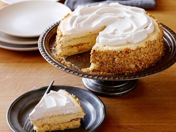 Spiced Pumpkin Icebox Cake - For your Thanksgiving get-together, make this chilled twist on a favorite holiday pie a day in advance, so you can focus on other dishes.