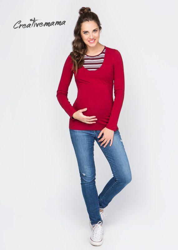 🔷ЛОНГСЛИВ BORDO(ХЛОПОК) 🔷   4️⃣2️⃣9️⃣ГРН Для Беременных и кормящих мам. Можно носить после беременности и грудного вскармливания. Стильный базовый лонгслив из натурального хлопка — базовая вещь в осеннем гардеробе любительниц натуральных тканей. Изделие имеет секрет в виде подъемного топа, что после родов позволит мамочке незаметно и комфортно кормить грудью в любом месте и ситуации парке, самолете, гостях, ресторане, магазине – ограничений нет! — Выгодно подчеркивает беременный…