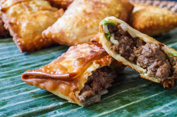 "Martabak is an Indonesian street food popular in Java. It seems to have originated from the Arabian ""mutabbaq"" (Arabic for folded), a stuffed pancake. Seasoned beef and onions are wrapped in egg ro..."