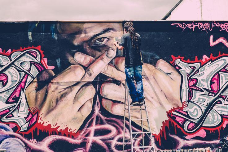 Bogotá, Arte callejero