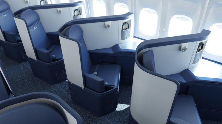 Delta Airlines Boeing 747 400 Delta One Business Elite W
