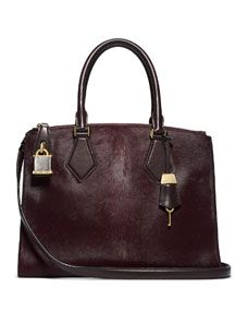 Michael Kors Large Casey Calf Hair Satchel