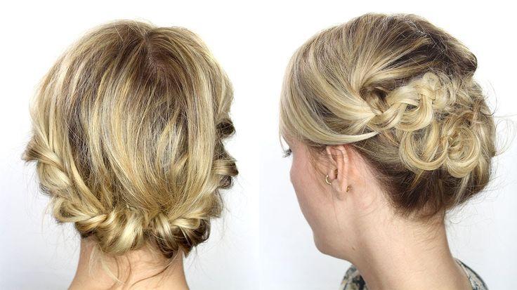 Tutoriel coiffure facile cheveux mi-longs/courts (+playlist)