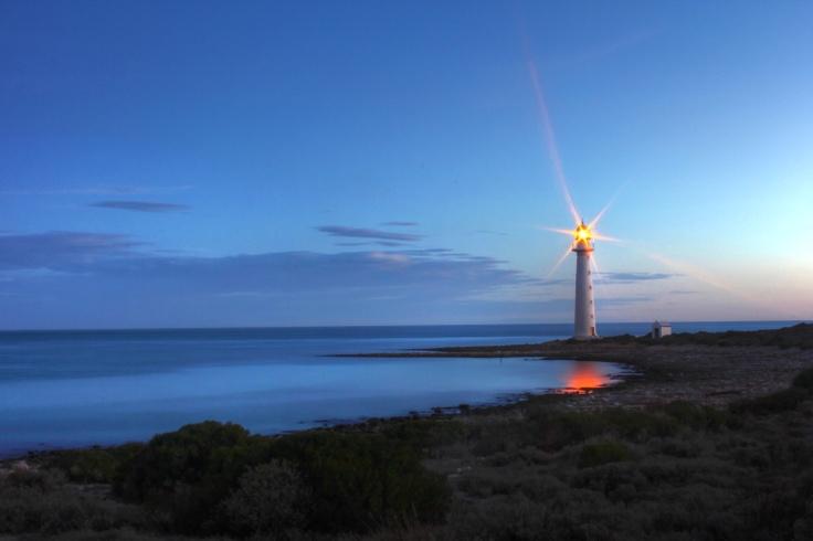 Port Lowly lighthouse, Southern Australia.