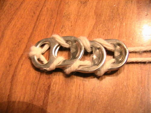 different version of soda tab bracelet