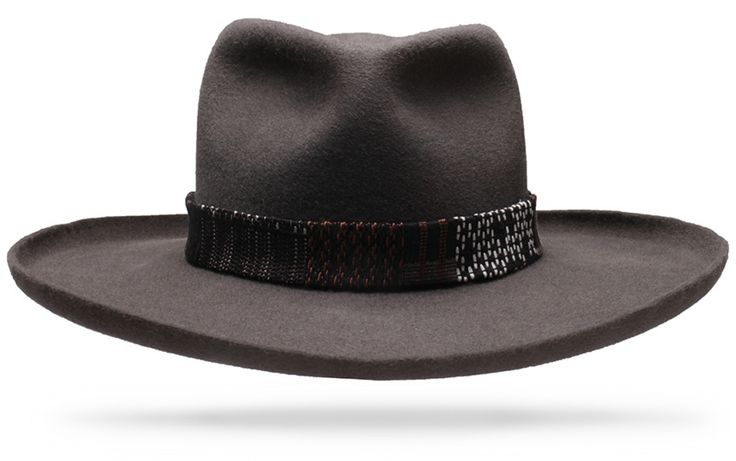 Marfa Charcoal - Worth & Worth by Orlando Palacios – Online Hat Store