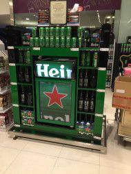 Heineken Bangkok Chiller Display