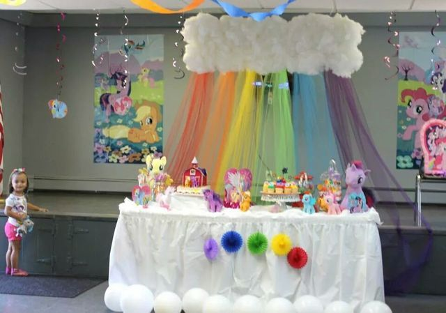 Jenna Leah's 3rd Birthday my little pony | CatchMyParty.com