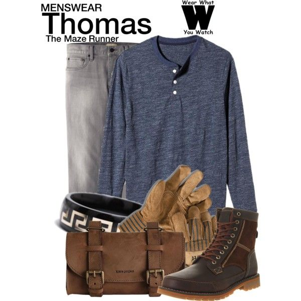 Inspired by Dylan O'Brien as Thomas in 2014's The Maze Runner.
