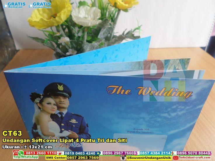 Undangan Softcover Lipat 4 Pratu Tri Dan Siti isi dengan nomor kontak #UndanganSoftcover #HargaSoftcover #undanganPernikahanMurah #SouvenirPernikahanMurah