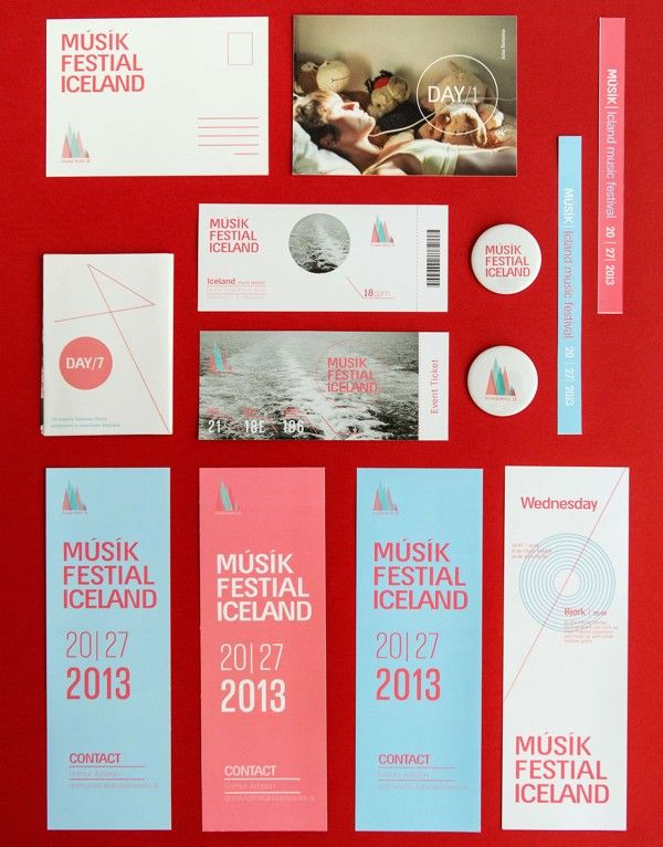 Iceland Music Festival by or shaaltiel, via Behance
