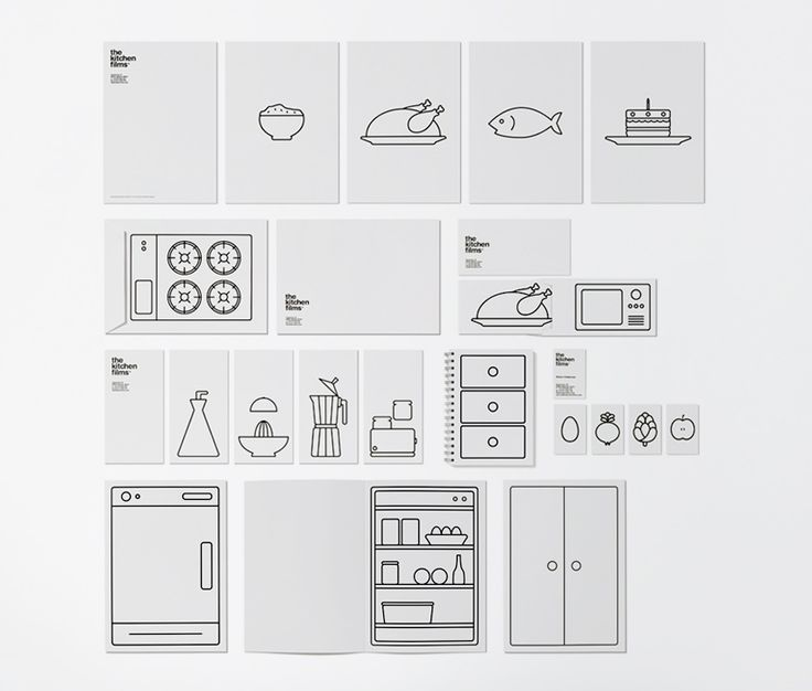 #houseofbranding   The Kitchen Films Business Cards