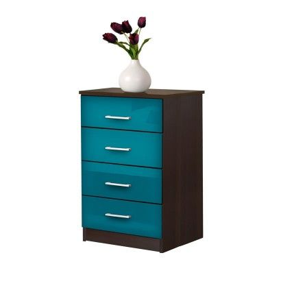 Tall+Nightstand+-+Contemporary+4+Drawer+Nightstand