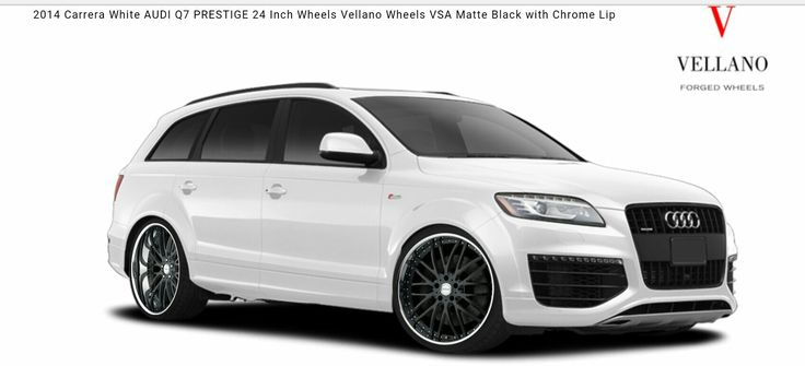 """Audi Q7 on 24"""" Rims"""